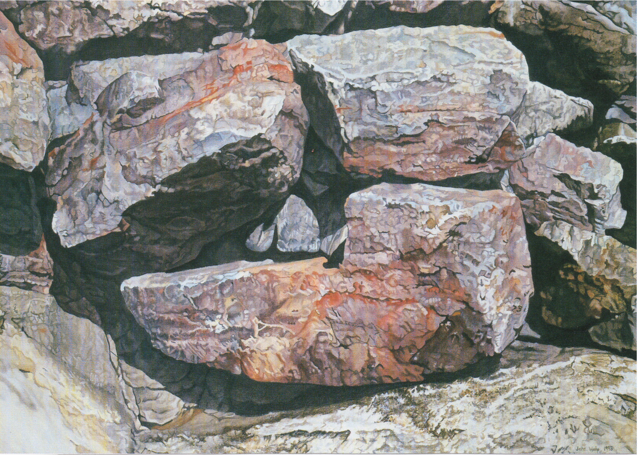 Rocks in Arey's Cove II