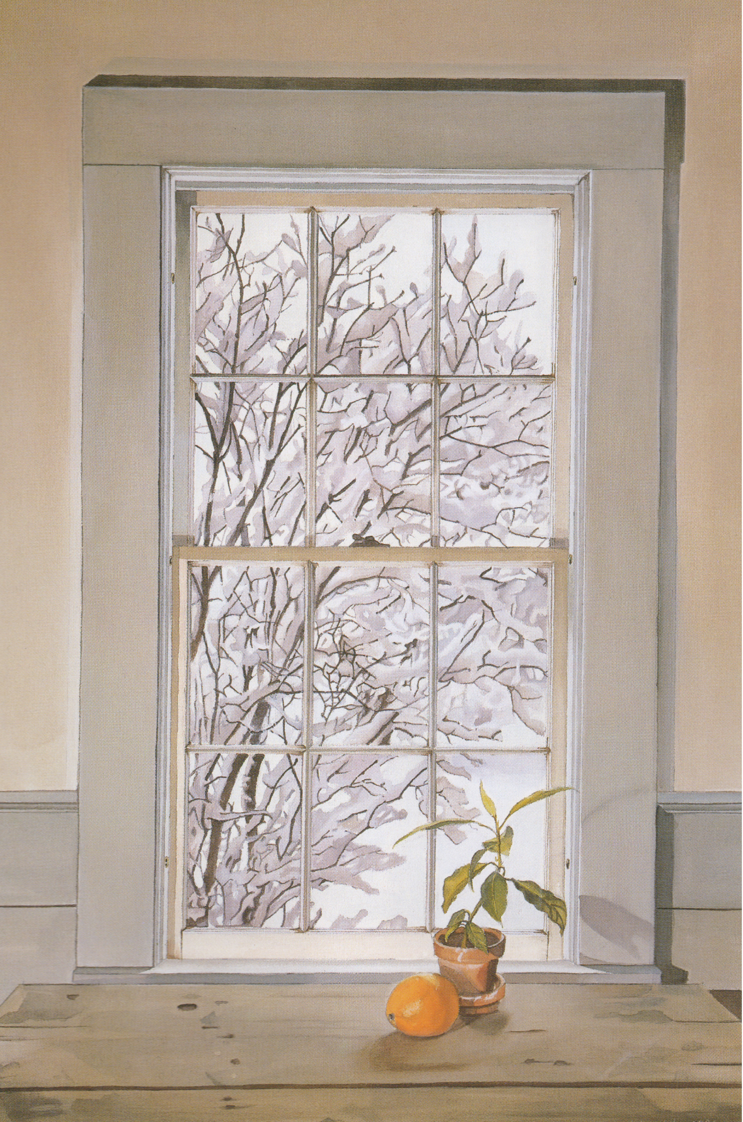 Kitchen Window in Winter