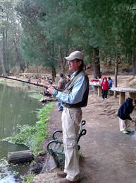 La pesca siempre acompañándote.