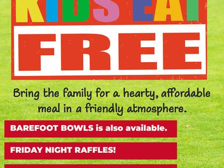 KIDS EAT FREE IN AUGUST