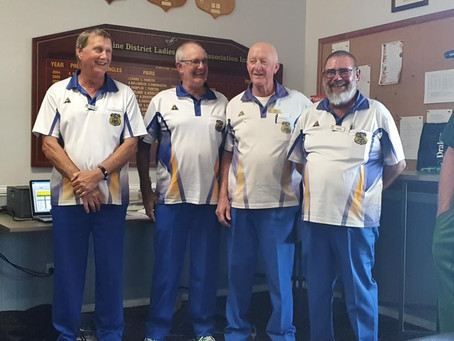 Woombye bowlers excel at Chinchilla Bowls Carnival