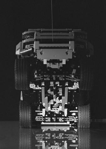 LEGO Defender undercarriage