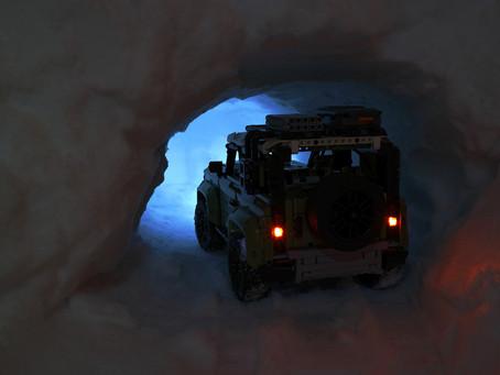 LEGO Defender on snow