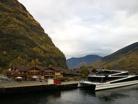 Fjord cruise in Nærøyfjord