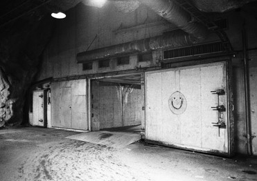 Happy bomb shelter