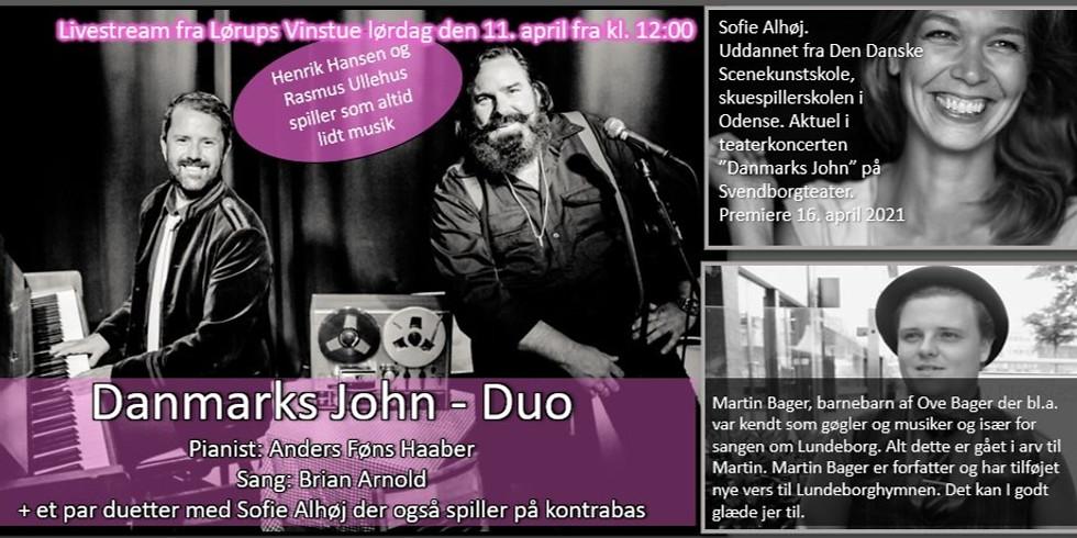 Danmarks John Dou med flere... LIVESTREAM fra Lørups Vinstue