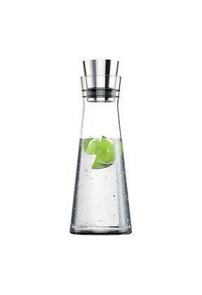 Glaskaraffe mit automatischem Ausgießer