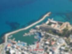 Kyrenia Reymel Hotel Teras Görsel