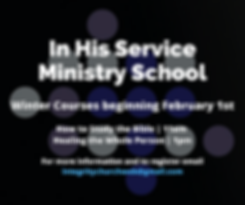 In His Service Ministry School.png