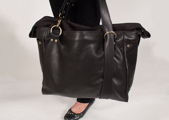 The Weekend Bag (Black)