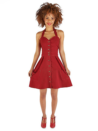 Bedding Dress in Red