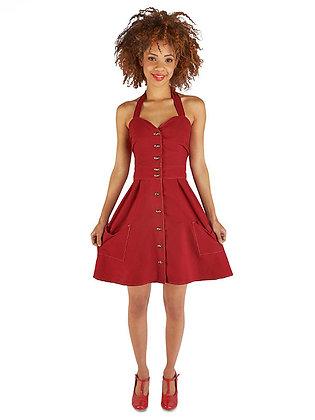 Bedding Dress in Red