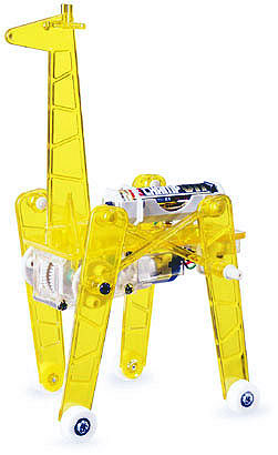 Mechanical Giraffe - Four Leg Walking Type