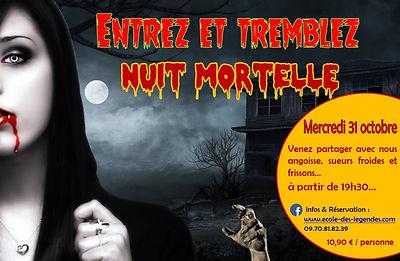 Affiche Halloween 2018 - NUIT MORTELLE.j