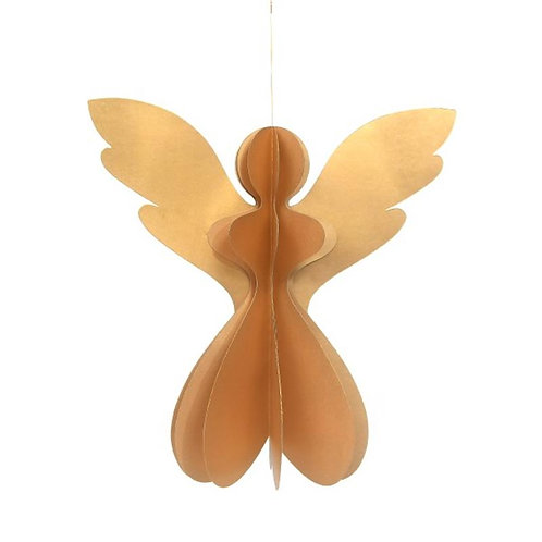 Papieren engel - 17,5 cm