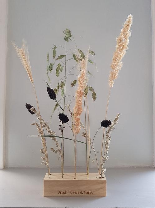 Houten bloemenstandaard - M