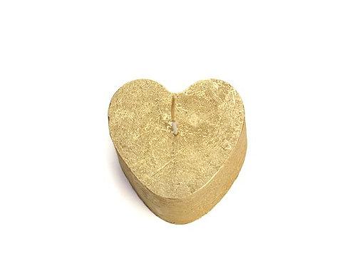 Kaars hart van goud