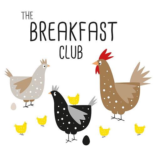 Servetten The Breakfast Club van PPD 33 x 33 cm