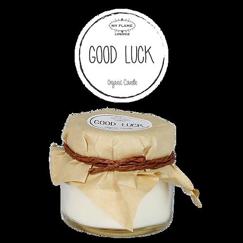 Sojakaars - Good Luck - Geur: Fresh Cotton