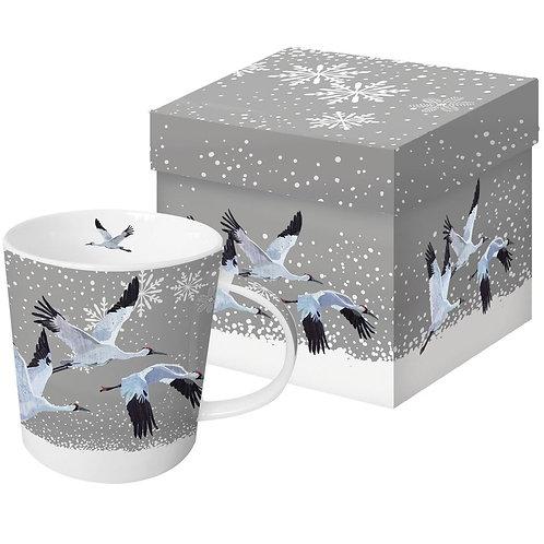 Beker Snowfall cranes van PPD