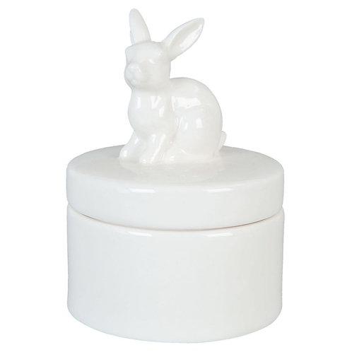 Doosje met konijn
