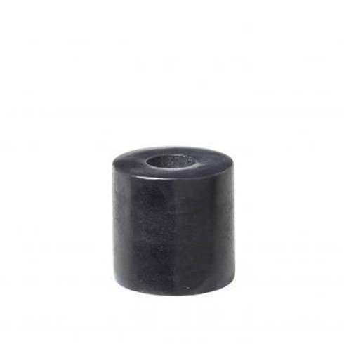 Kandelaartje van steen voor potloodkaarsjes