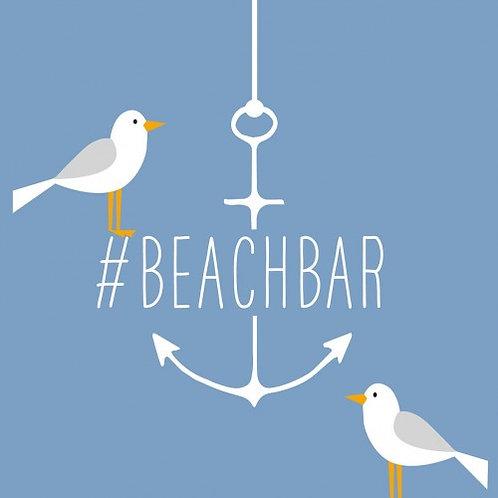 Servetten Beach Bar 33 x 33 cm