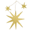 Thumbnail: Gouden ster Kali met twee kleine sterretjes