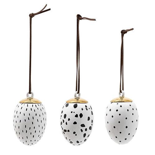 Keramieken hangers (set van 3)