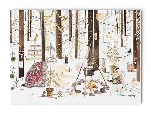 Kerstkaart 'Wat ik je wens' van Plint
