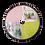Thumbnail: Bloemen- en kruidendroger ring metaal