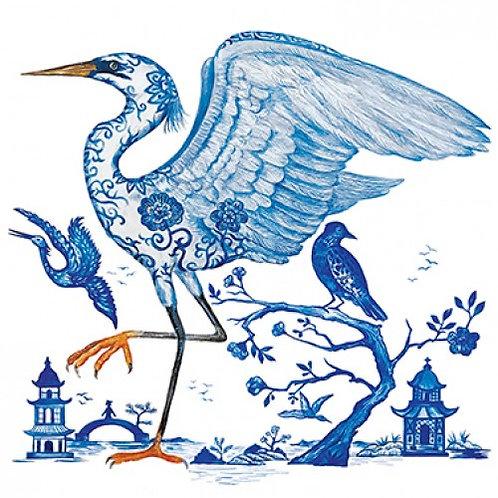 Servetten 'Prince's Egret'