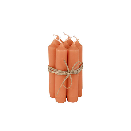 Bundeltje kaarsen - sunset