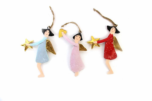 Dansende engeltjes - set van 3