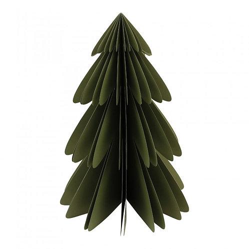 Kerstboom van papier XL