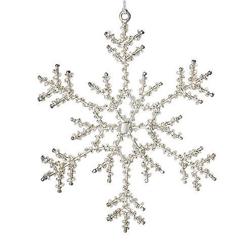 Hanger sneeuwvlok (16,5 cm)