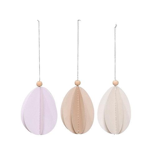 Papieren hangers (set van 3)