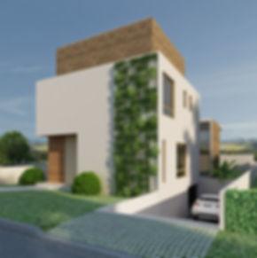 maquete eletronica fachada casa