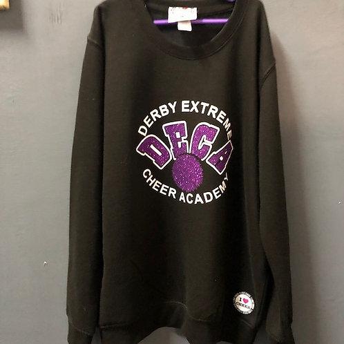 DECA Black/Purple Logo Sweatshirt - Adult