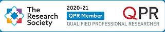 Research Society QPR Member Mark - Mediu
