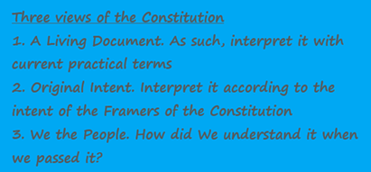 The Constitutionality of HR1