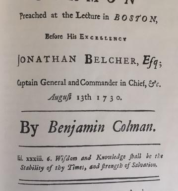 Benjamin Coleman