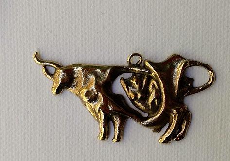Llavero/colgante Pasífae bronce