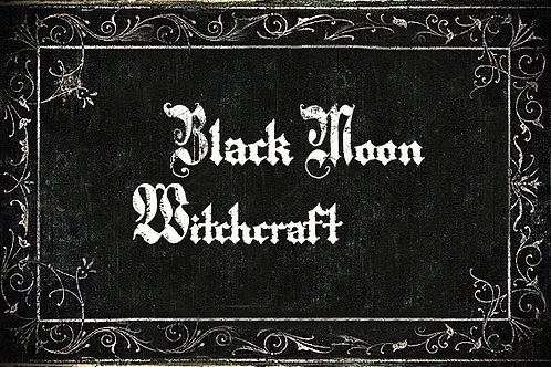 Black Moon Witchcraft Mentorship