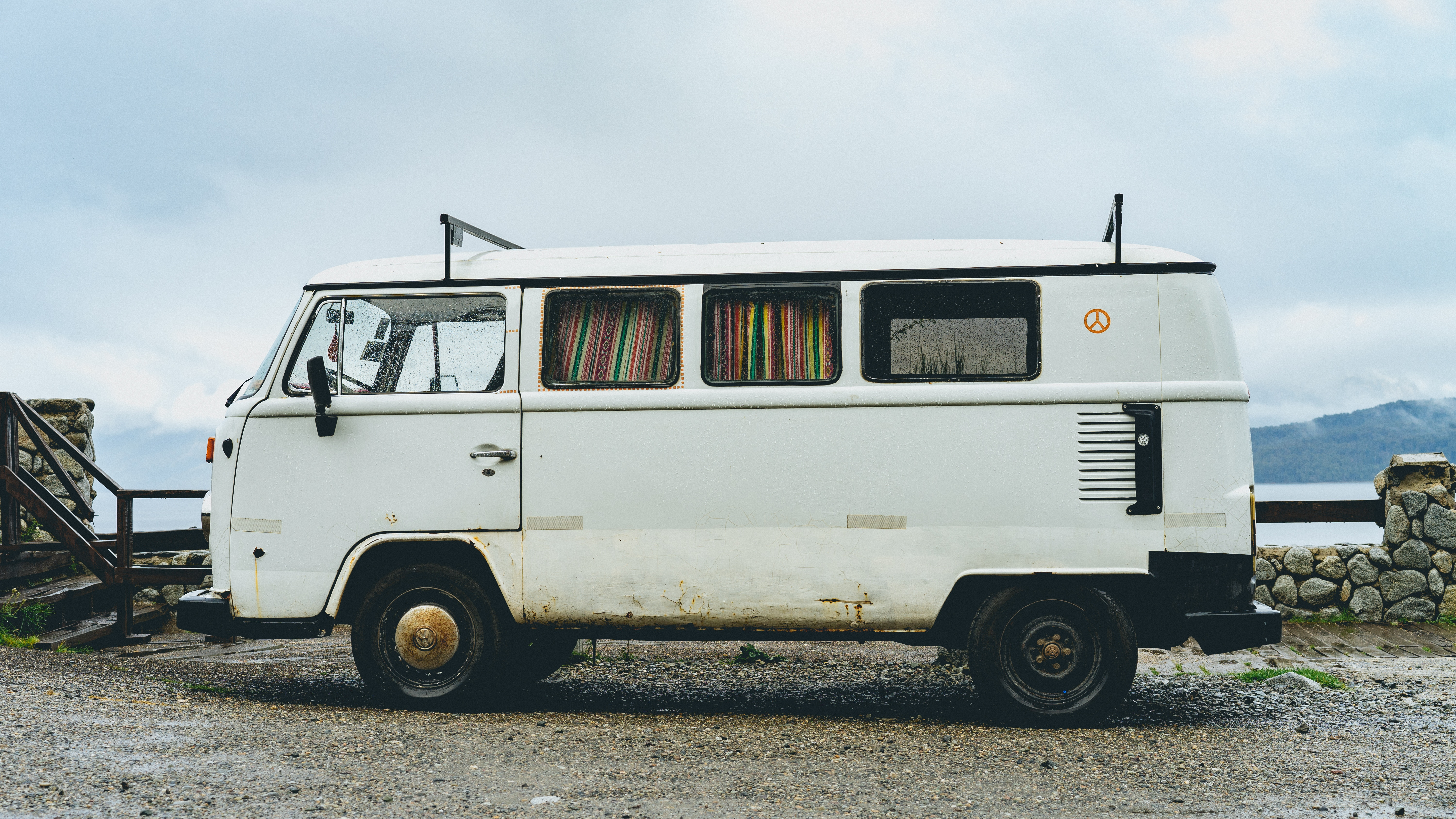 Rusty Campervan