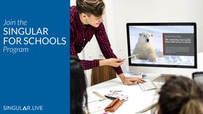 Announcing Singular for Schools