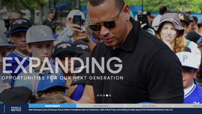 A-Rod Corp Website Pays Homage to Baseball Roots with Ticker Built by Black Helicopter Creative