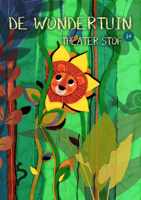 Voorkant Flyer De Wondertuin - Theater S