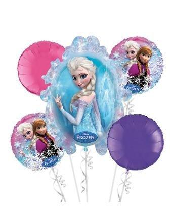 Frozen Elsa and Anna Bouquet