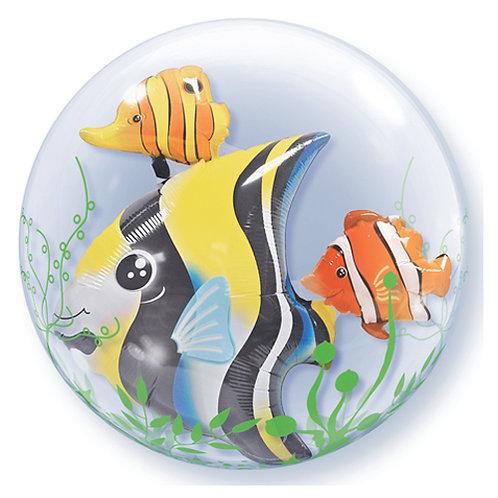 "24"" Tropical Fish Double Bubble"